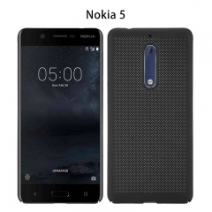 Nokia NOKIA 5 mobile phone cooler shell breathable cell phone protective cover slim feel Black Nokia 5