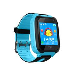 Kids Smart Watch Phone Boys Girls GPS Tracker Smart Wrist SIM Fitness Trackers Camera Touch Screen blue 1