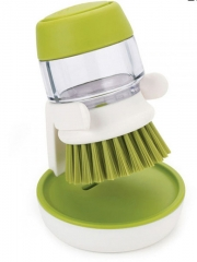 Kitchen cleaning supplies can be put clean detergent clean brush hydraulic brush soap