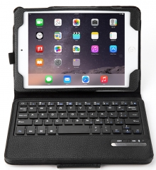 """Detachable Wireless Bluetooth ABS Keyboard PU Leather Case Tablet  for Apple iPad Mini 4 7.9""""inch"""