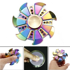 EDC Fidget Hand Spinner Multi color Focus ADHD Autism Finger Toy Gyro new Kids Gift multicolor 7