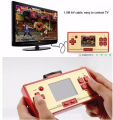 RS-20 children's game support TV output 2.6-inch color screen handheld video game console dark red button
