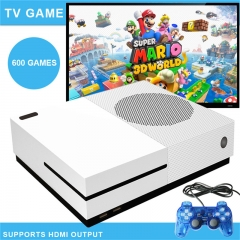 Video game console, home game built-in 600 games White