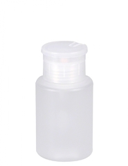 Empty bottle with pump for nail solvents 120 ml by Nailycious
