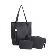 Joyism Handbags 3 Colors Women Shoulder bag Vintga Crossbody Bags black f
