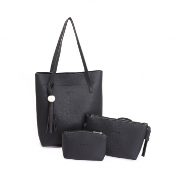 Joyism Valentines Gift For Handbags 3 Colors Women Shoulder bag Vintga Crossbody Bags black f