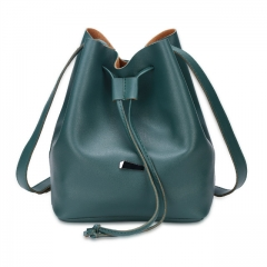 Joyism Handbags Strap Dual Purposes Shoulder Crossbody Bucket Bag green f