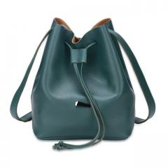 Joyism Handbags Strap Dual Purposes Shoulder Crossbody Bucket Bag green f