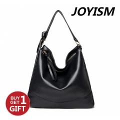 Joyism Handbag Classic Lady Handbag High Quality PU Totes Fashion Bag for women Black f