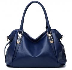Joyism Handbag Bigsize Fashion Tote Bags Luxury Shopping Bag blue f