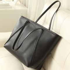Joyism Handbags Snakeskin Pattern Shoulder Bag Luxury Leather Portable Tote Bag black f