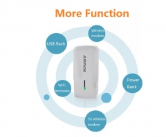 IOVST Multifunction POWER BANK 5200MAH white 5200
