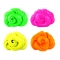 Hand Plasticine Luminous Slime Play Dough Magnetic Rubber Mud Clay Child yellow no size