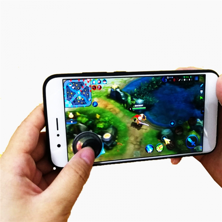Mobile Joystick Cellphone Mini Game Handle touch Screen Gamepad Physical Sucked Type Gamepad