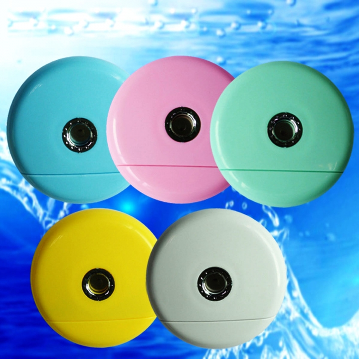 Cell Phone Beauty Mist Spray Diffuser Portable Mobile Phone Filling Water Meter for Android / iPhone Android  yellow no size