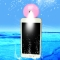 Cell Phone Beauty Mist Spray Diffuser Portable Mobile Phone Filling Water Meter for Android / iPhone Android  Pink no size