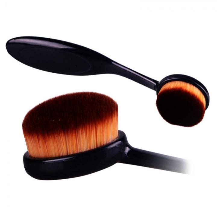 Makeup Brush Cosmetic Foundation Cream Powder Blush Makeup Tool Black