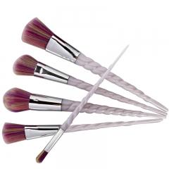 5 PCS Makeup Brushes Set Make up Brushes Professional Cosmetics Tools Brushes Kit white