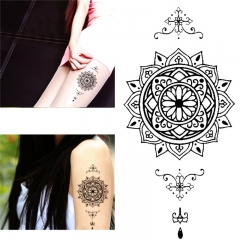 Fashion Individual Styles Waterproof Temporary Tattoos Stickers black