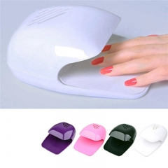 Nail Art Nail Polish Dryer Portable Fan Nail Art Tools Mini Drier White 99
