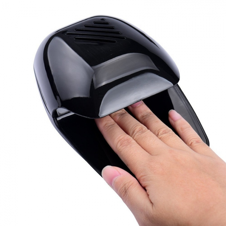 Nail Art Nail Polish Dryer Portable Fan Nail Art Tools Mini Drier black 99