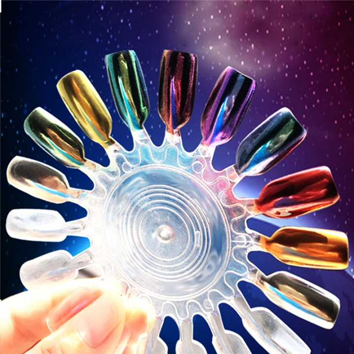 Glitter Magic Mirror Chrome Effect Dust Twinkle Nail Art Powder 10PCS 99