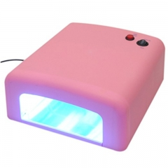 4 Tube Bulbs Phototherapy Nail Dryer Ideal for Beauty Salon white 99