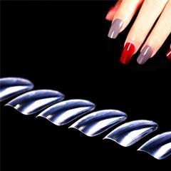 Natural Transparent Nail Piece Art Display Finger Tips Tool Set transparent 99