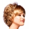 Charming Wigs New Fashion Women Party Short Sexy Full Hair Wig gold no size