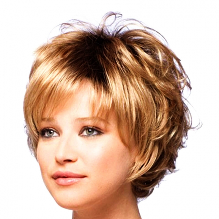 Charming Wigs New Fashion Women Party Short Sexy Full Hair Wig brown no size