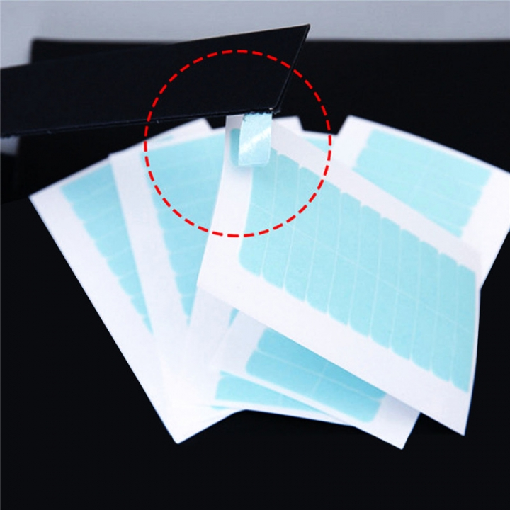 4X0.8CM Hair Extension Bonding Double Sided Tape Walker as picture 4x0.8cm