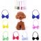 Gentleman Pet Bow Ties Cat/ Dog Tie Adjustable Cat Collar Tie Accessories 1pc Random color 11X7CM
