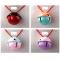 40MM Cute Pet Dog / Cat Maccaron Fight Color Star Empty Bell Pet Supplies Pink  purple Diameter 4cm
