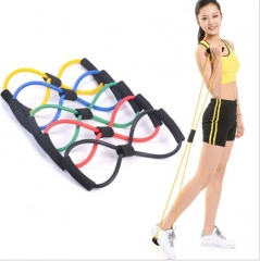 Elastic Tension Rope Gym Fitness Sport Rubber Loop Pull Rope Exercise Stretch Belt Pilates Yoga Belt green 6x9x1000mm