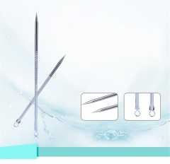 Portable Stainless Steel Acne Blackhead Removal Needle Tool as picture