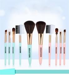 5 PCS Professional Beauty Cosmetic Bag Set Make-up Brush Tools random color