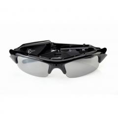 720P Spy DV DVR Video Audio Recorder Sunglasses GlassesHiddenCamera Eyewear black S