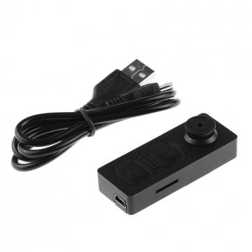 Easybuy Mini S918 Button Pinhole Spy Camera Hidden DVRHiddenVideoRecorder (Black) black S