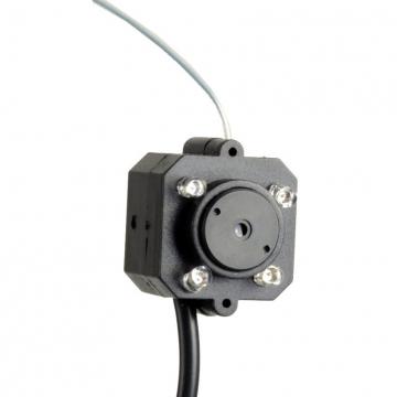 Wireless Home Security Nanny Camera Hidden Spy Pinhole4LEDCompleteSystem black S