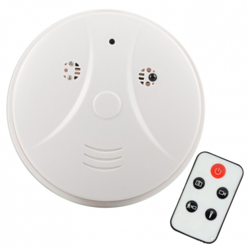 Smoke Detector Detection Model Hidden Spy Camera DVRCamcorder DV+Remote black S