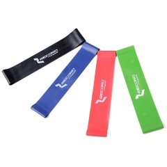 Resistance Bands Professional Latex Loop for Crossfit Yoga Stretching Strength Training Set of 4 multi-color one size