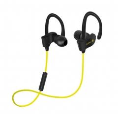 Wireless Bluetooth Headset Earbud Ear Stereo Sports Earphones yellow