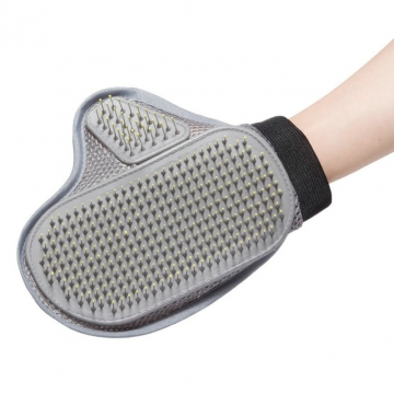 Deshedding Glove Pet Fur Remover Glove Brush Tool for Any Size Dogs or Cats random one size