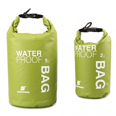 Drifting Waterproof Dry Bag For Boating, Kayaking, Fishing, Rafting, Swimming, Camping, Canoeing green 2L