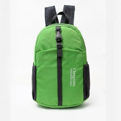 Ultra Lightweight Foldable Backpack Packable Hiking Durable Daypack Camping Hiking Travel Cycling green one size