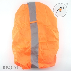 Reflective Bag Waterproof Cover for Running Sports Safety Gear High Visibility orange