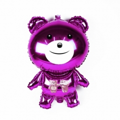 Party Color Balloon Sets for Kids Birthday, Graduation Decoration Wedding Balloons Supply 35.4 Inch purple one size