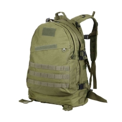 3D Military Tactical Rucksacks Outdoor Backpack High Capacity Waterproof Pack green one size