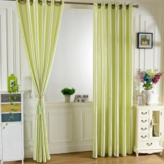 100 x 250CM Pure Color Grommet Ring Top Blackout Window Curtain for Bedroom Living Room GREEN 100*250cm