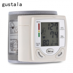 gustala CK-101S Health Care Wrist Portable Digital Automatic Blood Pressure Monitor